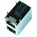 XRJD-S-21-8-8-42X1 Without Magnetics RJ45 Connector Module