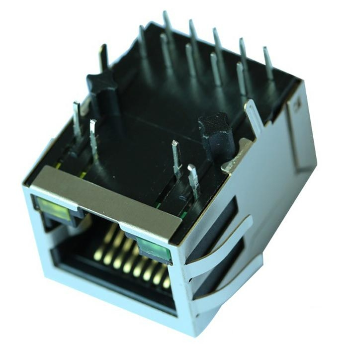UE-LA1S109-43LF 1000 Base-T RJ45 Module With Integrated Magnetics