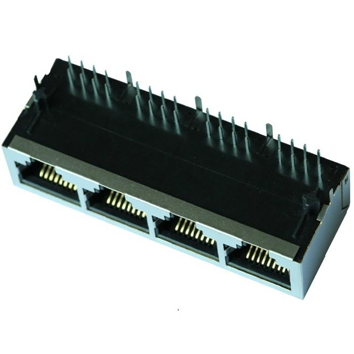 TFN-88P-4A 1X4 Without Magnetics RJ45 Conector Modular Jack