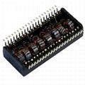 T1231NL/T1068NL/T1108NL Quad Port 10/100 BASE-T SMT T1/CEPT/ISDN-PRI Transformer