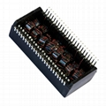 PM48-2064K PM48-2030K 10/100Base-T Dual port Low Profile Magnetics