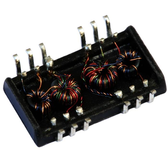 NS0013B LF NS0013BX LF Single Port 10/100Base Low profile Lan Transformer