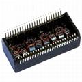 NA0069R1 LF Single Port 1000BASE-T Lan Magnetics Transformer Module