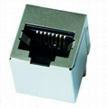 KHU1S041Q6 LF Single RJ45 Connector Module With Integrated 10/100Base-t Magnetic