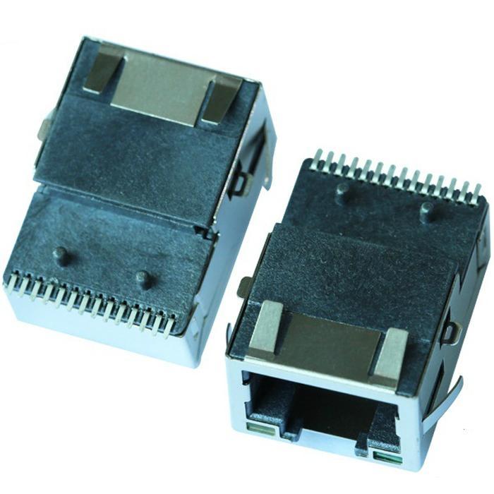 J0C-0006NL 10/100Base-TX Single Port SMT RJ45 Connector