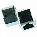 J0018D21NL 10/100 Base-TX 1 Port RJ45 Modular Jack