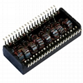 H1074NL 10/100Base-TX Quad Port Transformer Modules