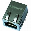 6605759-1 10/100 Base-t 1 Port RJ45 Magnetic Jack