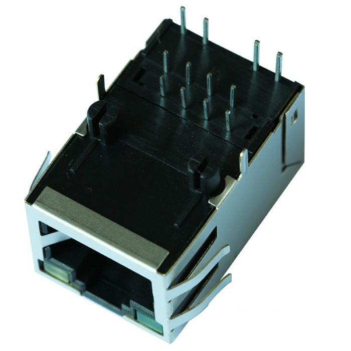 1-6605752-1 10 Base-t 1X1 Port RJ45 Female Jack With LED