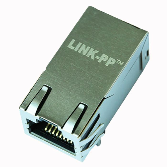 1840727-6 Gigabit 1X1 Port RJ45 Magnetic Jack With Transformer