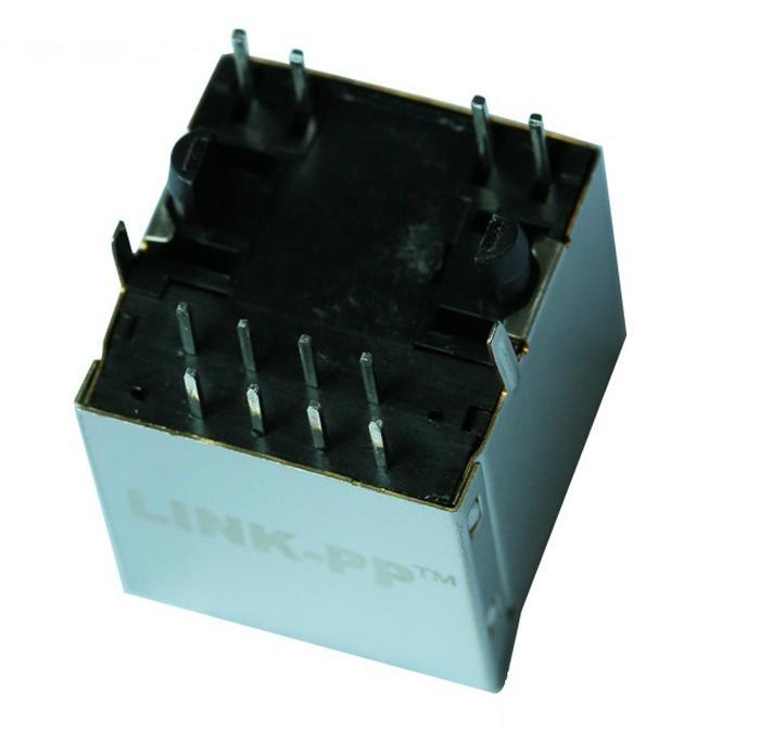 1840472-8 Gigabit Vertical RJ45 Modular Jack With Magnetics
