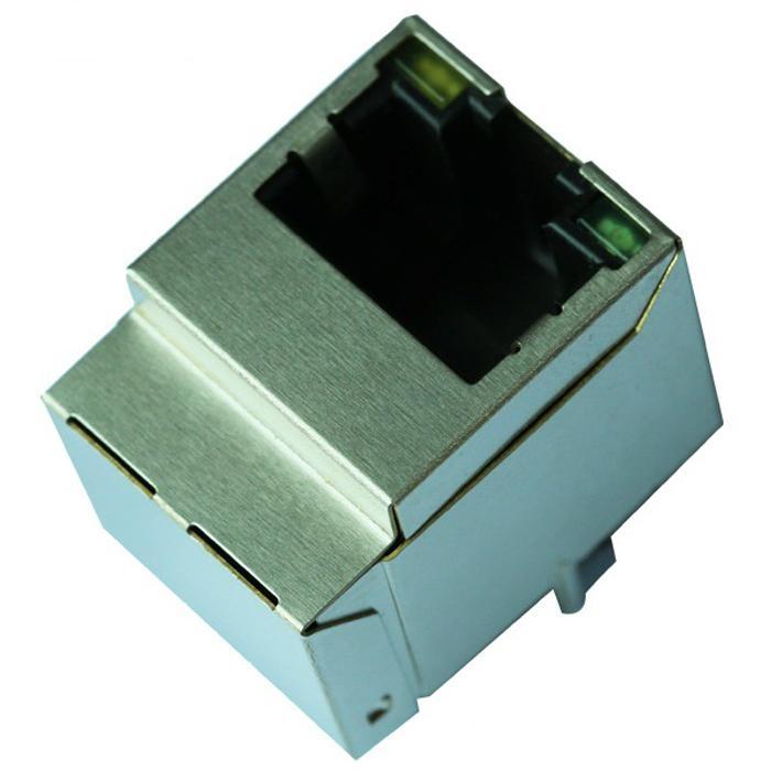 1840455-3 10/100 Base-t Vertical RJ45 Modular Jack With Magnetics
