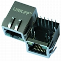 0899-1Z1R-Y6 1000 Base-t Ethernet RJ45 Magjack With Integrated Magnetic