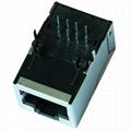 AMJ-188-00101 1X1 RJ45 Magnetic Jack Without LEDs