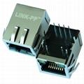 HFJ11-1043E-L12RL 10 Base-t 1X1 Port RJ45 Shielded Connector