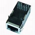 0826-1G1T-32-F Long Body Single Port RJ45 Female Socket