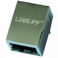 LPJ0011BBNL RJ45 Single Port Connector with 10/100 Base-T Magnetics