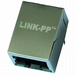 LPJ0011BBNL RJ45 Single Port Connector with 10/100 Base-T Magnetics