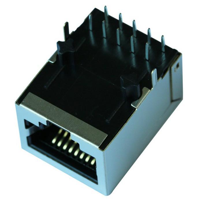 HR901130A 1000 Base-t Single Port RJ45 Jack Module With Shielded