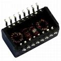 H1101NL Single Port, 10/100 BASE-T Ethernet Transformer Modules, SMD