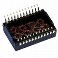 H1174NLT / HX1178NLT Dual Port, 10/100 BASE-T Ethernet Transformer Modules