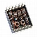 HX2305NLT Dual Port, 10/100 BASE-T Ethernet Transformer Modules & PoE,SMD,Rohs