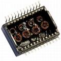 HX5004NLT Single Port, 1000 BASE-T Ethernet Transformer Modules, SMD,Rohs