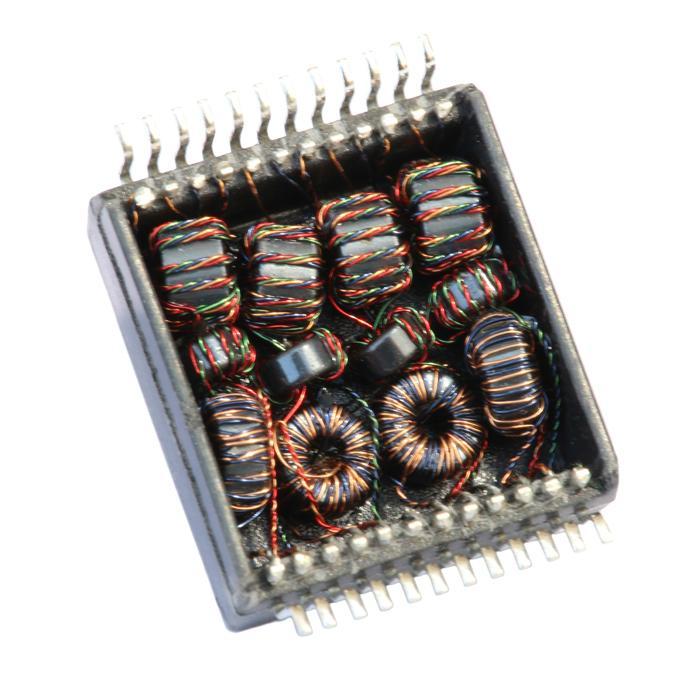 H5008NLT Single Port,1000 BASE-T Ethernet Transformer Modules,SMD,Rohs