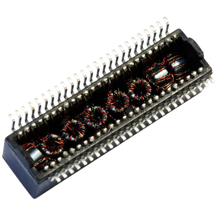 HX5020 / HX5020NL Dual Port, 1000 BASE-T Ethernet Lan Transformer Magnetics