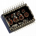 HX6015NL Single Port,1000 BASE-T Ethernet Transformer Modules,SMT,PoE+