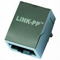 LF1S022 / LF1S022LF Electronic Design Without LED and EMI Finger  Konektor RJ45