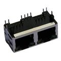 HR911205 10/100 Base-T 1X2 RJ45 Magnetic Jack with Integrated Magnetics