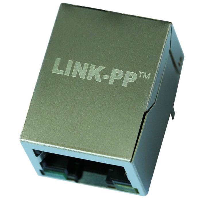 13F-64GYDPNS2NL Single Port 8 Pin RJ45 Female Electrical Connectors