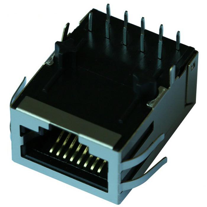 HFJ11-1G02E-L12V3RL | 1 Port RJ45 Magjack Connector Through Hole 1000 Base-TX