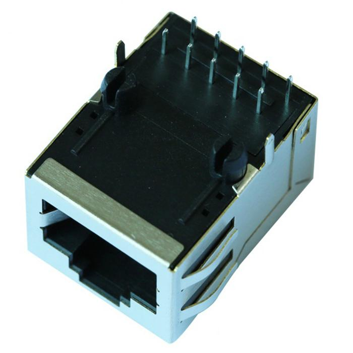 1605837 | Single Port RJ45 Connector with Integrated Magnetics,Without Leds