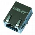 J0G-0007NL   Low Profile 1x1 10/100