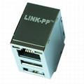 XMB-G70-1-DAB-1-180 Ethernet RJ45 Modules With Dual USB