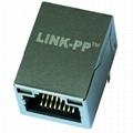 0817-1AX1-11-F   10/100 Base-T 1 Port RJ45 Magjack Connector