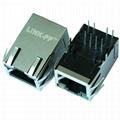 5-6605706-2 Tab Up 10/100 Base-T RJ45