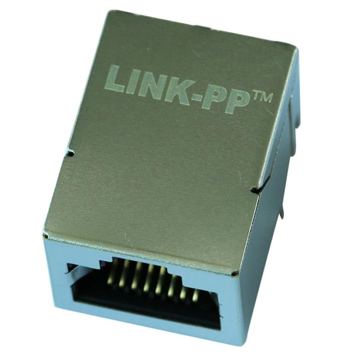 MOX-RJ45-1815GYV RJ45 Connnectors With 10/100 Base-tx Integrated Magnetic Tab Up