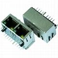 JX80-0019NL 10/100 Base-TX 1X2 Port RJ45