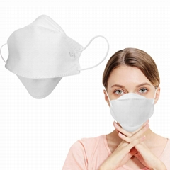 N95 In Stock Dust Disposable Non Woven N95 Face Respirator Mask