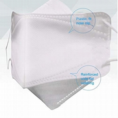 Disposable N95 mask 4 layers Non-woven Fabric KN95 Face Mask