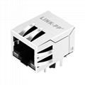 5-6605417-6 | 10/100 Base-T 1 Port 8P8C RJ45 Magjack Connector