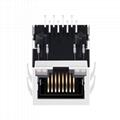 SI-60189-F 100 Base-T 8P8C Ethernet RJ45 Connector
