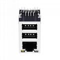 RU1-161A1Z1F RJ45 Integrated Magnetics Modular Jacks with USB