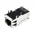 0838-1X1T-W7 Power over 1 Port Ethernet RJ45 Magjack Connector