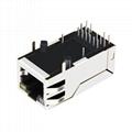 0826-1X1T-80 / 0826-1X1T-80-F Integrated Magnetics RJ45 Modular Jacks