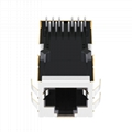 0816-1X1T-23-F | MagJack Integrated Connector Modules RJ-45 Connector