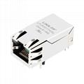 JK0-0125NL 10/100Base-TX Power over Ethernet RJ45 Magjack Connector